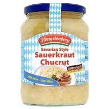 Hengstenberg Bavarian Sauerkraut - 24 OZ jar