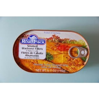 Rugenfisch Smoke Makerel Tin - 6.7 OZ