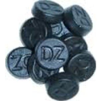 Averys Double Salt Round licorice - 4 OZ