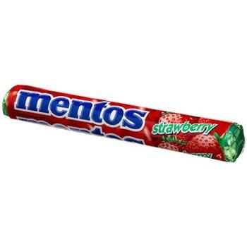 Van Melle Strawberry Mentos Roll - EACH