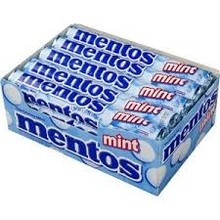 Van Melle Peppermint Mentos 15 Ct Box