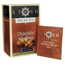 Stash Chocolate Hazelnut Decaf tea - 18 CT