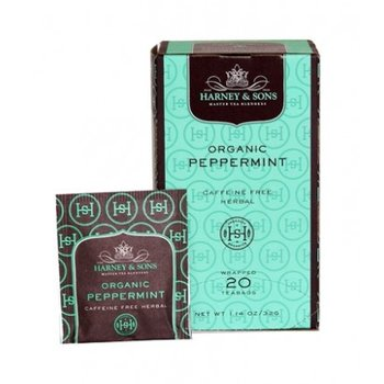 Harney & Son H&S Organic Peppermint tea 20 ct  Box
