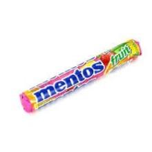 Van Melle Mixed Fruit Mentos Roll - EACH