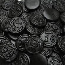Venco Licorice Coins  2.2 Lb Bag