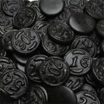Venco Licorice Coins  2.2 Lb Bag  Reg $11.99