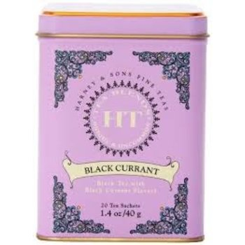 Harney & Son H&S Black Currant Tea Tin 20 CT