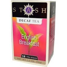 Stash Decaf English Breakfast tea 18 ct box