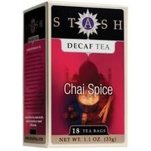 Stash Decaf Chai Spice - 18 CT