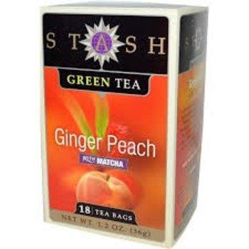 Stash Ginger Peach W/Matcha - 18 CT
