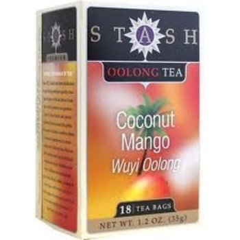Stash Coconut Wuyi Oolong Black Tea 18 ct