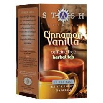 Stash Cinnamon Vanilla Caffeine Free Tea 18 ct