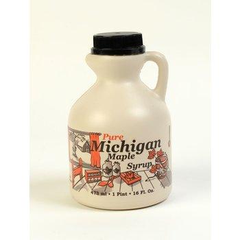 Big Prairie Farm Michigan Pure Maple Syrup Pint - 16 OZ Jug