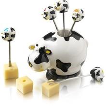 Boska Party pick set cows stainless picks gift box