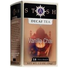 Stash Decaf Vanilla Chai - 18CT