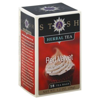 Stash Red Velvet Rooibos tea 18 ct box