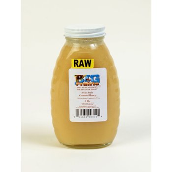 Big Prairie Farm Swiss Style Creamed Honey - 1 lb Jar