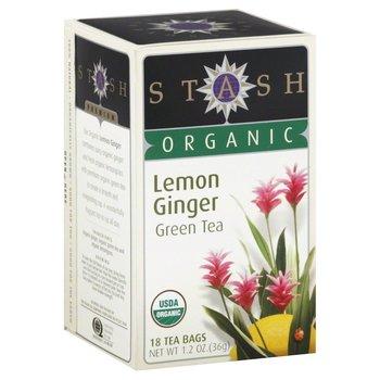 Stash Herb Lemon Ginger Tea - 18 CT