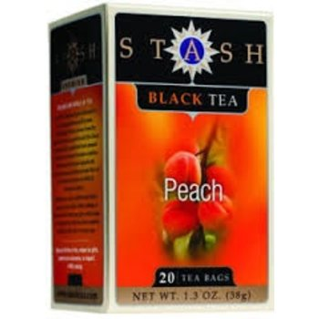 Stash Peach Flavored Black Tea Box - 20 CT