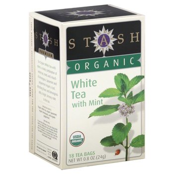 Stash Herb White Mint Tea - 18 CT