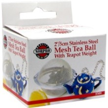 Norpro Mesh Tea Ball with Weight 2 inch