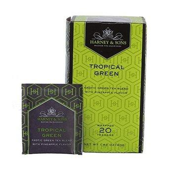 Harney & Son H&S Tropical Green Tea 20 Ct Box