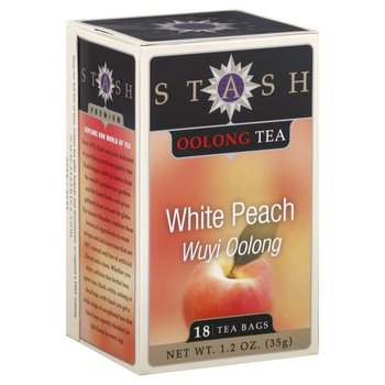 Stash Whte Peach Wuyi Oolong, - 18CT
