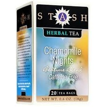 Stash Chamomile Nights Herbal tea 20 ct
