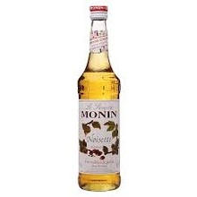 Monin Hazelnut Syrup - 25.4OZ glass bottle