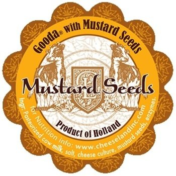 Gooda Cheese With Mustard Seed
