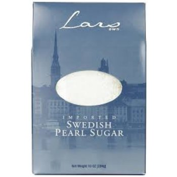 Lars Own Swedish Pearl Sugar 10 oz box