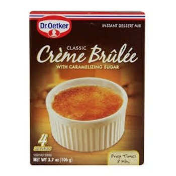 Dr Oetker Creme Brulee mix 3.7 oz box