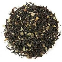 Chocolate Mint Flavored Black Loose Tea - 2 Oz Bag