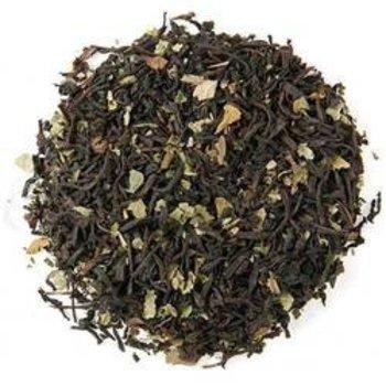 Chocolate Mint Flavored Black Loose Tea - 2 Oz Bag