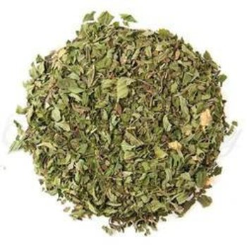 Organic Willamette Peppermint Flavored Green Loose Tea - 2 Oz Bag