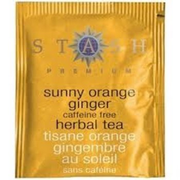Stash Sunny Orange Ginger Herbal tea 18 ct