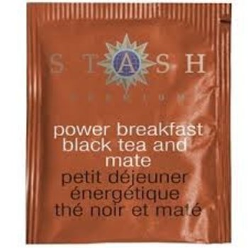 Stash Power Breakfast Black tea with Yerba Mate 18 ct