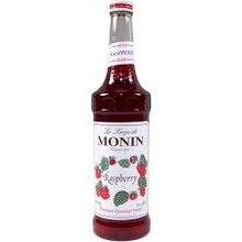 Monin Raspberry Syrup - 25.4OZ Glass Bottle