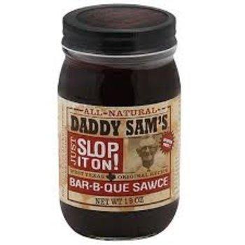 Daddy Sams Original BBQ Sauce - 19 Oz Jar