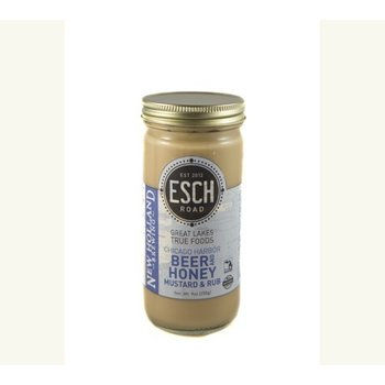 Esch Road Beer & Honey Mustard - New Holland - 13 OZ Jar