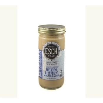 Esch Road Beer & Honey Mustard - New Holland - 13 OZ Jar
