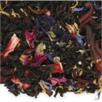 Organic Tropical Flower Flavored Black Loose Tea - 2 Oz Bag