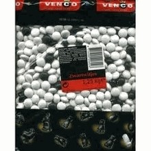 Venco Black & White Licorice 2.2 lb bag