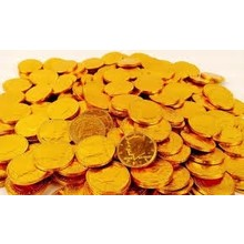Fort Knox Gold Coin 1 lb Bag 1.5 inch