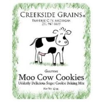Creekside Grains CG Moo Cow Sugar Cookie mix with cookie cutter - 18 OZ