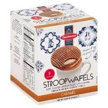 Daelmans Jumbo Caramel Wafers Box 10.9 oz  Reg $4.49