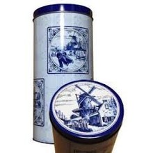 Bolletje Delft Blue Rusk Tin - 1 each