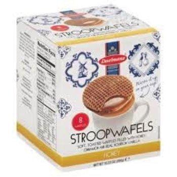 Daelmans Honey Syrupwafer in Box 10.23 oz