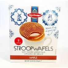Daelmans Maple Syrupwafer in 10.9 oz Box