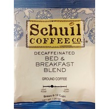 Schuil Bed & Breakfast Decaf Pkt - Single Pot